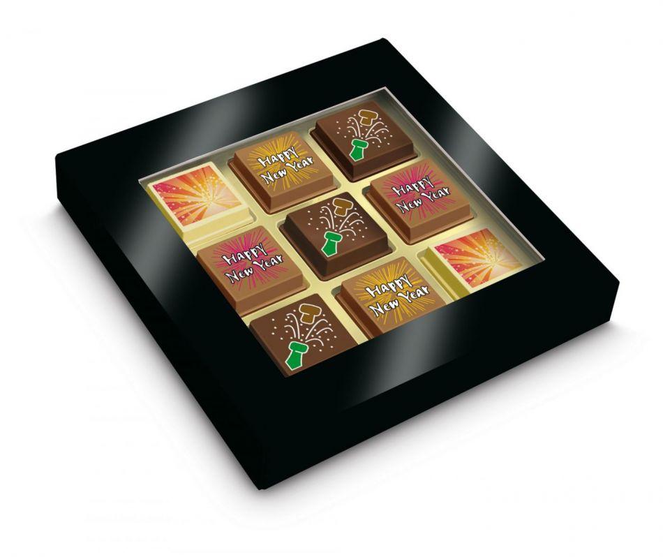 Happy New Year bonbons 9 stuks