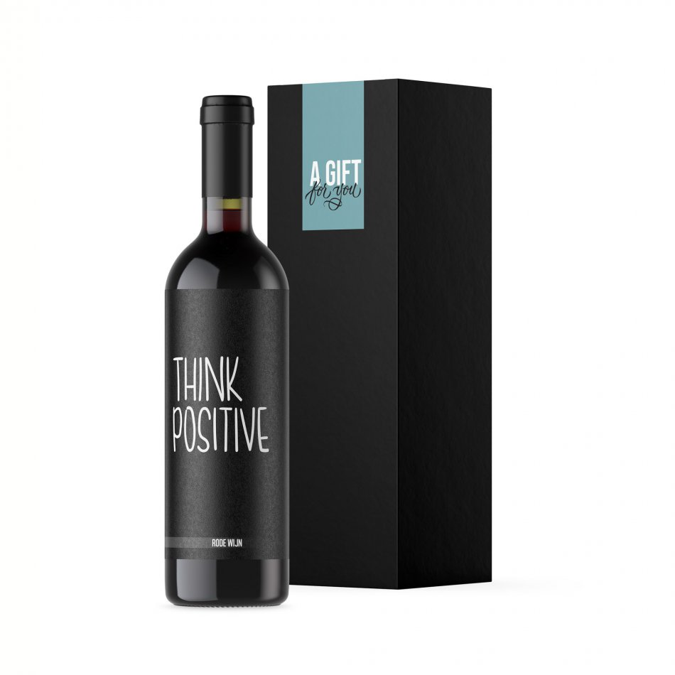 Think Positive - Rood