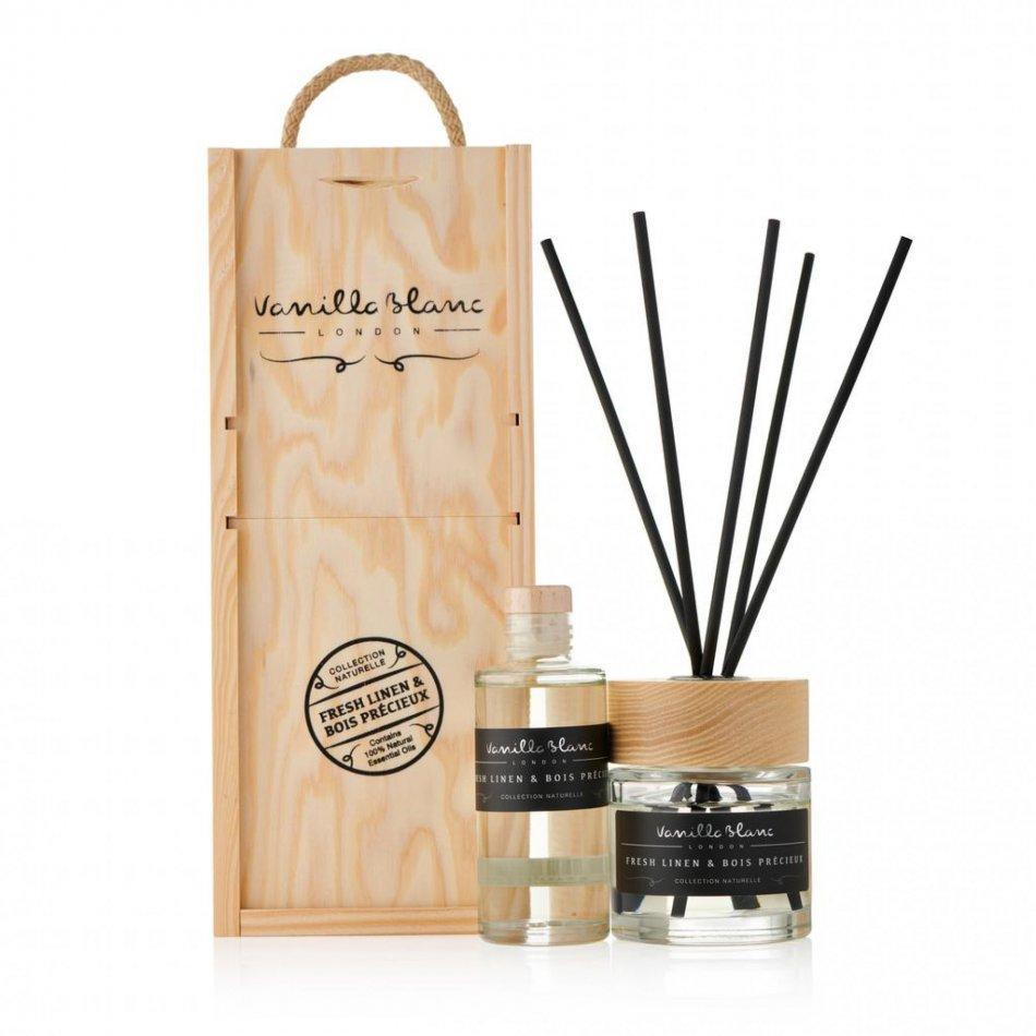 Vanilla Blanc Gift Set - Fresh Linen & Bois Precieux